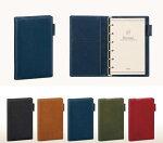 ダ・ヴィンチグランデオリーブレザージャストリフィルサイズポケットシステム手帳全5色JDP3029