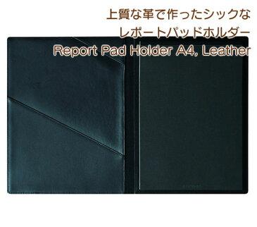 トトノエ(TOTONOE) Report Pad Holder A4, Leather 上質な革で作ったシックなレポートパッドホルダー THR00A4-BKL