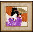 伊東深水 木版画『雪』【絵画・美人画家・上村松園】【通販・販売】