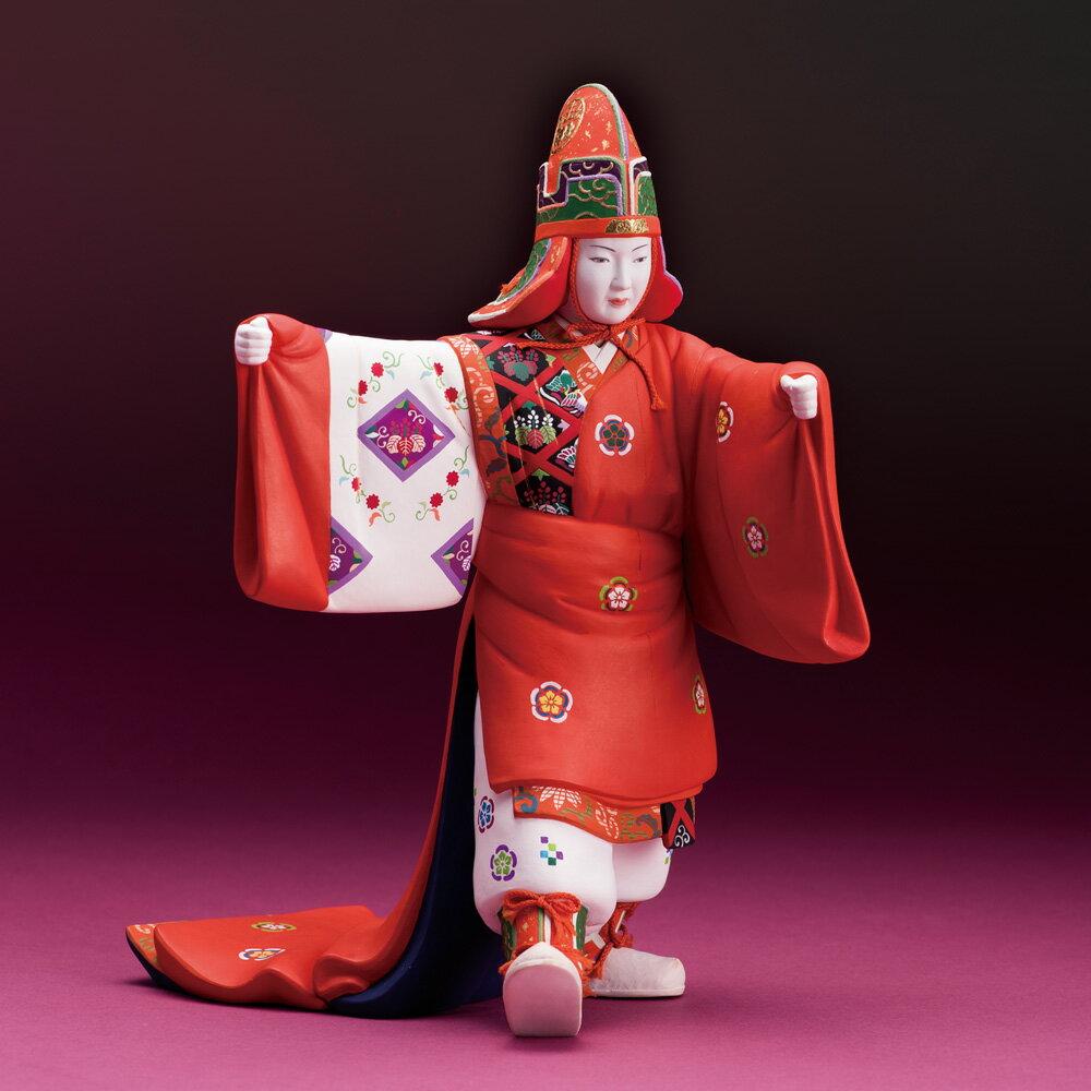 新天皇・皇后陛下御即位記念 野田祐輔作 博多人形『万歳楽』