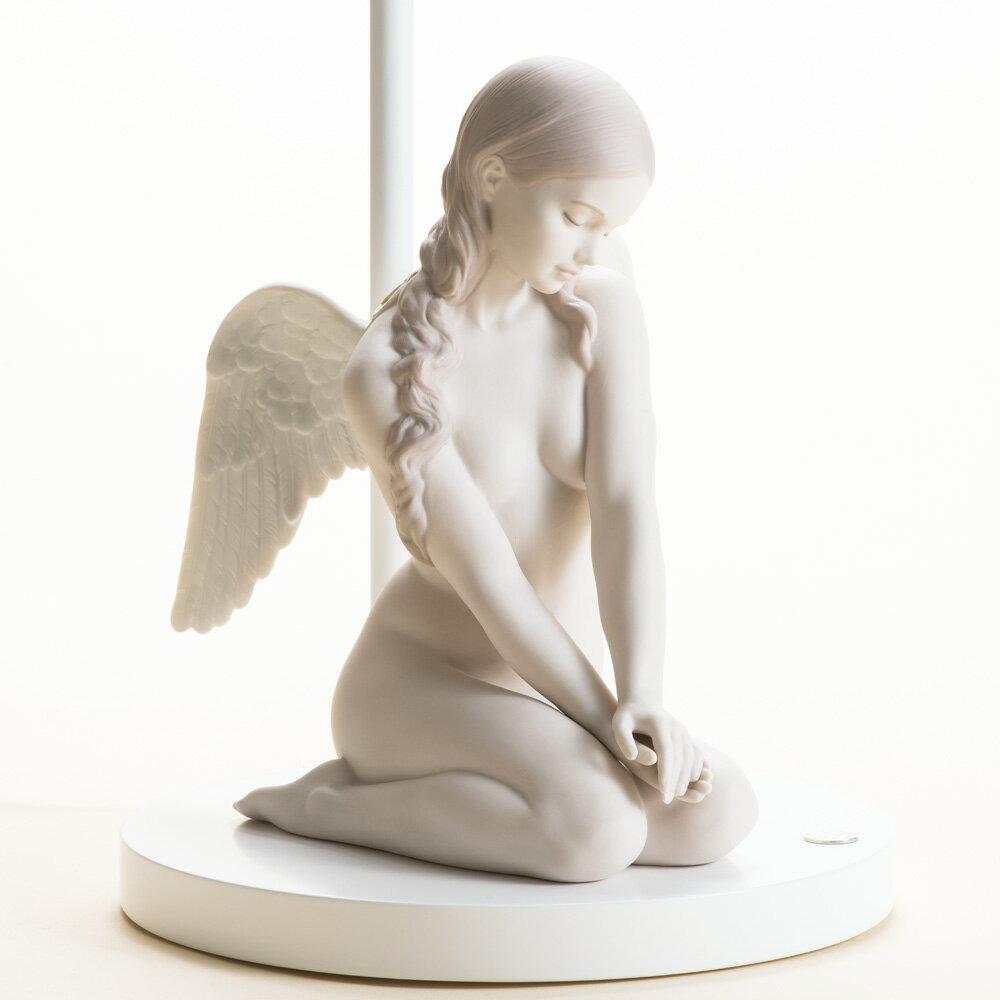 リヤドロ ランプ『美しき天使』