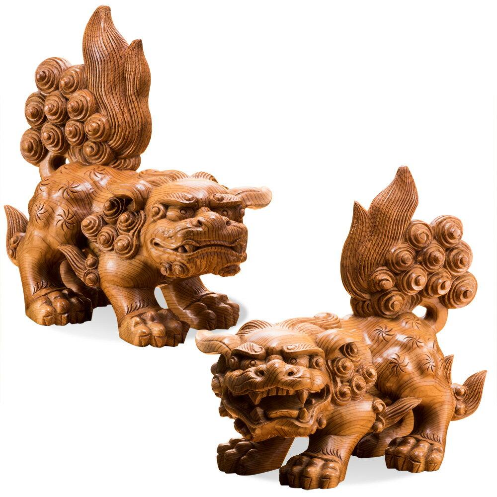 御神木 屋久杉『獅子狛犬』2体1組