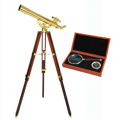 セレストロン社『天体望遠鏡 アンティーク仕上げ』