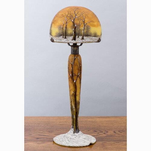 ドーム兄弟『冬風景文ランプ』