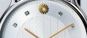 銀無垢純国産『戦後70周年記念時計』単品(男性用)(女性用)【腕時計】【通販・販売】