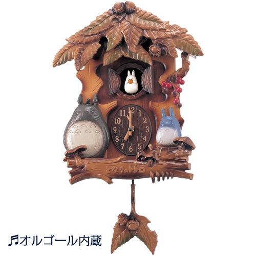 からくり掛け時計『となりのトトロ』〜トトロ大集合〜 オルゴール内蔵