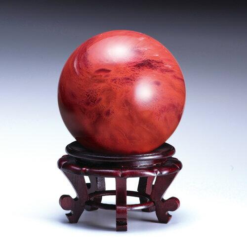 吉祥大珠『赤水晶』直径15cm