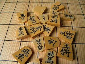 王将駒(プラスチック特製) 巻菱湖書