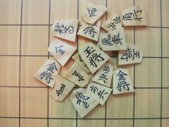 棋士会フェスティバル記念対局使用駒