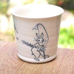 【京焼清水焼】お茶やお酒が美味しい!鳥獣戯画が美しく描かれた!清水焼 鳥獣戯画 蕎麦猪口 ...