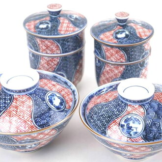 圓頂景觀幾杯清水燒西貢撚度和茶杯設置的彈簧,蓋上杯蓋