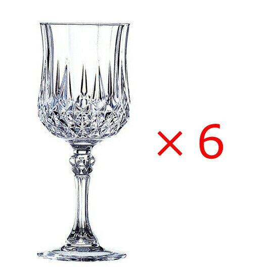 グラス・タンブラー, ワイングラス 6 CRISTAL DARQUES 250 SSK16