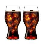 【正規品】リーデル (RIEDEL) オー (O) コカ・コーラ + リーデルグラス 2個入 ドイツ製 クリスタル 高品質 炭酸 コーラ専用グラス 御祝 結婚祝い 開店祝い 新築祝い ギフト プレゼント SSK14