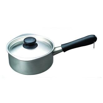 日本的工業設計師柳宗理牛奶鍋刷 (帶蓋)