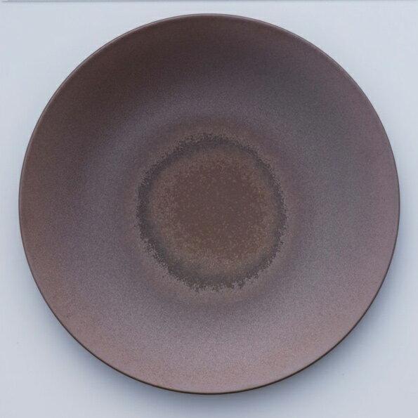 [noritake17-21] オリッジ 28cmクーププレート(茶) 94921/10-587