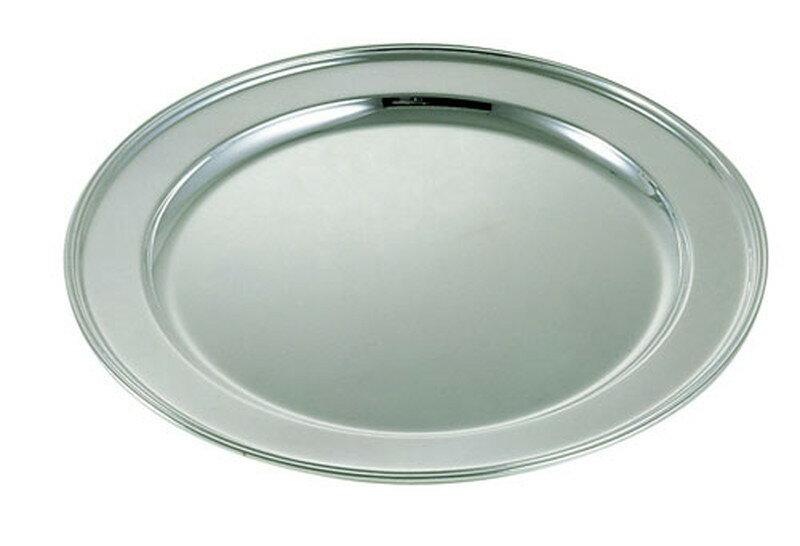 [TKG16-1567] 洋白3.8μ丸肉皿 24インチ ※受注生産