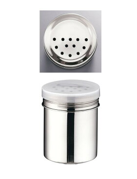 [TKG16-0459] TKG18-8調味缶 大(アクリル蓋付)  オレガノ缶