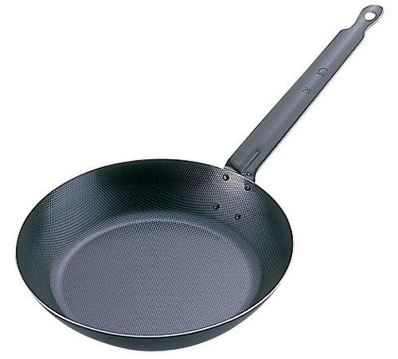 [TKG16-0095] SAスーパーエンボス加工超鉄鍋フライパン  34cm