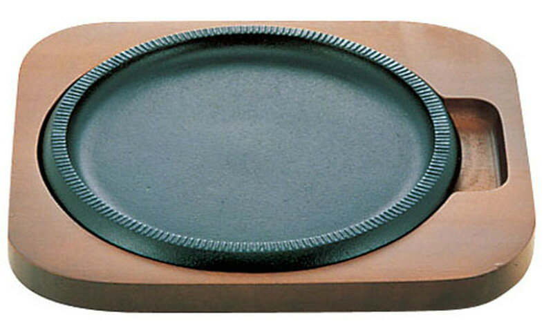 [TKG16-1662] IKステーキ皿 ニューライン丸型
