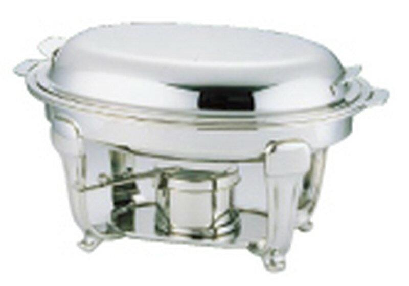 [TKG16-1445] UK18-8スタッキングバロン 小判 チェーフィングデッシュ 20吋:業務用食器の食器プロ H&K館