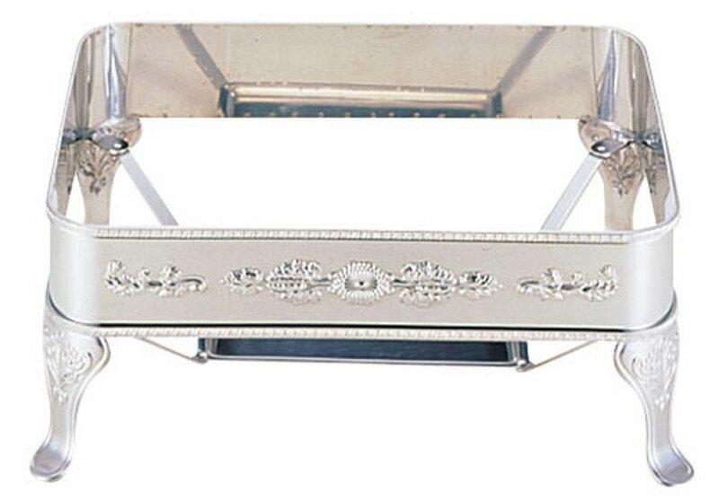 [TKG16-1449] UK18-8ユニット角湯煎用スタンド  菊 28インチ:業務用食器の食器プロ H&K館
