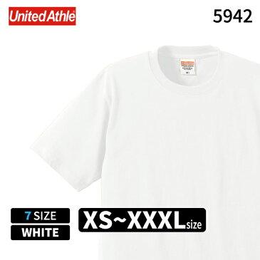 United Athle ユナイテッドアスレ 6.2オンス プレミアムTシャツ ホワイト