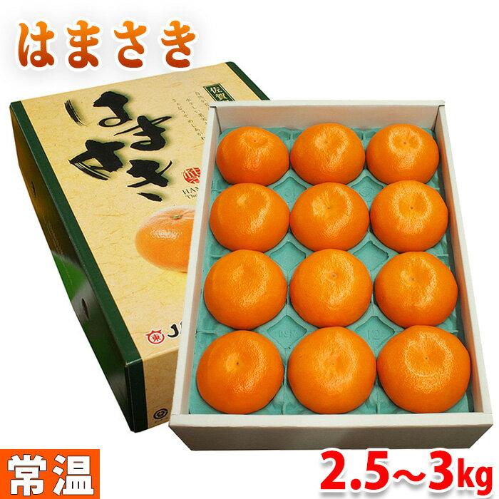 佐賀県産みかんはまさき10〜12玉入り2.5〜3kg(化粧箱)