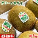 【送料無料】ニュージーランド産 ゼスプリ グリーンキウイ 33玉入り(1箱)