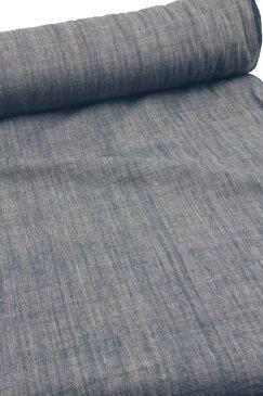 【灰藍】藍染め、綿生地 品番 EK-104(604) 幅68cm(手紡ぎ、草木染の手織り布)コットン【ノイ村の生地】