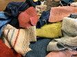 【手織りはぎれ】300gセット(手紡ぎ、草木染、手織り)定形外便送料無料、(代金引換不可)コットン