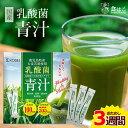 【送料無料】乳酸菌 国産青汁 3週間分(3g×21本) [