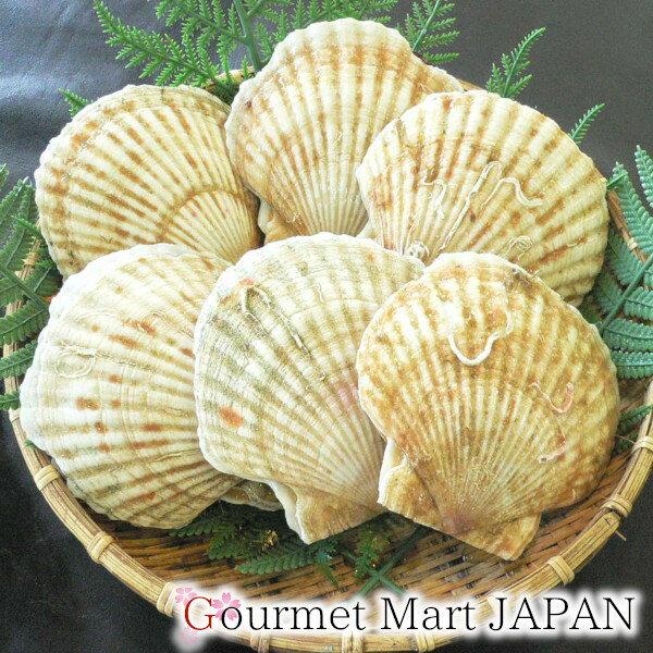 かにのマルマサ 北海道産 活帆立貝1kg詰め