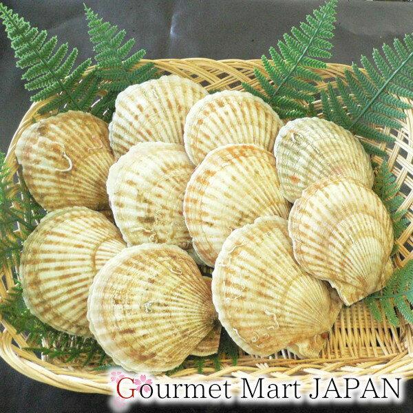 かにのマルマサ 北海道産 活帆立貝2kg詰め
