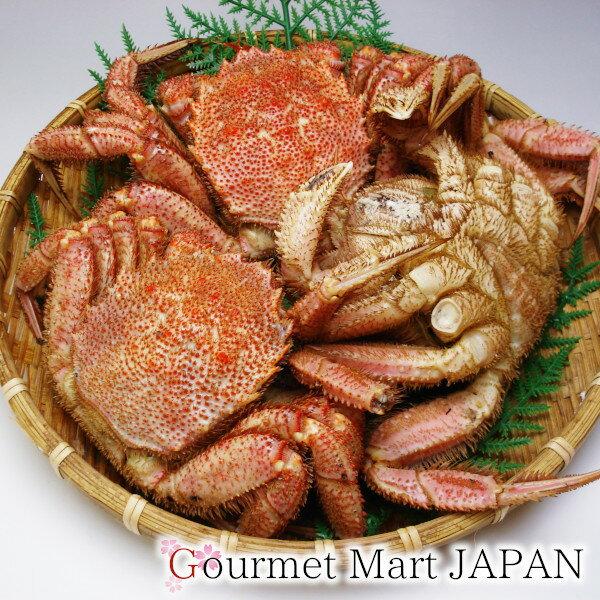 かにのマルマサ 訳ありボイル毛蟹1.0kg詰め(2〜3尾)