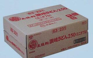シマダヤ太鼓判讃岐うどん(冷凍)250g×40食業務用箱売り