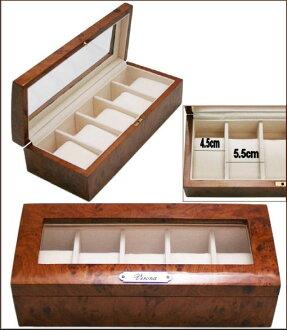 維羅納(VERONA)最新的高級木製鐘表收藏情况/5部收藏鐘表箱表收集情况