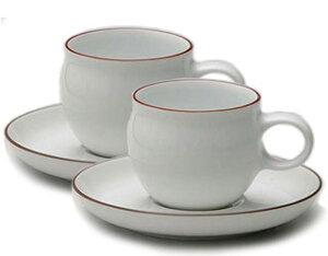 白山陶器G型コーヒーカップ&ソーサーペアセット
