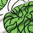 ★期間限定タイムセール★ マリメッコ marimekko ファブリック生地 ボッツナ (161 ホワイト×グリーン) 10cm単位カット販売 052122 161 Cotton fabric BOTTNA