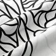 マリメッコ marimekko ファブリック生地 ボッツナ (190 ホワイト×ブラック) 10cm単位カット販売 052122 190 Cotton fabric BOTTNA マリメッコ生地