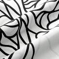 マリメッコmarimekkoファブリック生地ボッツナ(190ホワイト×ブラック)10cm単位カット販売052122190CottonfabricBOTTNA
