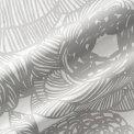 マリメッコmarimekkoファブリック生地クルイェンポルヴィ(191グレー)10cm単位カット販売066387191CottonfabricKURJENPOLVI