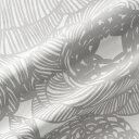 マリメッコ marimekko ファブリック生地 クルイェンポルヴィ (191 グレー) 長さ52cm×幅145cm 066387 191 Cotton fabric KURJENPOLVI マリメッコ生地