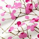 楽天マリメッコ marimekko ファブリック生地 ルミマルヤ (130 ピンク) 10cm単位カット販売 065175 130 Cotton fabric LUMIMARJA マリメッコ生地