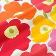 マリメッコ marimekko ファブリック生地 ピエニウニッコ (201 オレンジマルチ) 10cm単位カット販売 065205 201 Cotton fabric PIENI UNIKKO II