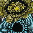 マリメッコ marimekko ファブリック生地 シィールトラプータルハ (120 マルチカラー) 10cm単位カット販売 063267 120 Cotton fabric siirtolapuutarha