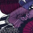マリメッコ marimekko ファブリック生地 シィールトラプータルハ (140 ホワイト×パープル系) 10cm単位カット販売 063267 140 Cotton fabric siirtolapuutarha