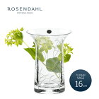 ROSENDAHL�?���������ҥե��ꥰ���١����饤�����16cm�ե��١������饹38155FiligranVASEtransparent�ڳڥ���_������