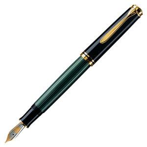 ペリカン PELIKAN スーべレーン M400 万年筆 (グリーン縞)Souveran M400 GREEN / BLACK ◇◇