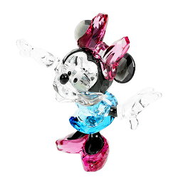 スワロフスキーSWAROVSKIフィギュリン&デコレーションミニーマウス9.4x10.9x6.4cm(ディズニー)1116765MinnieMouse