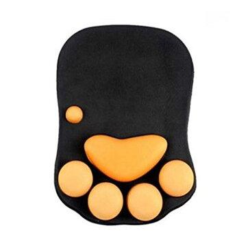 猫 肉球 マウスパッド 左利き 右利き 光化学センサマウス ボールマウス対応 可愛い 癒し ◇ALW-GEL-22